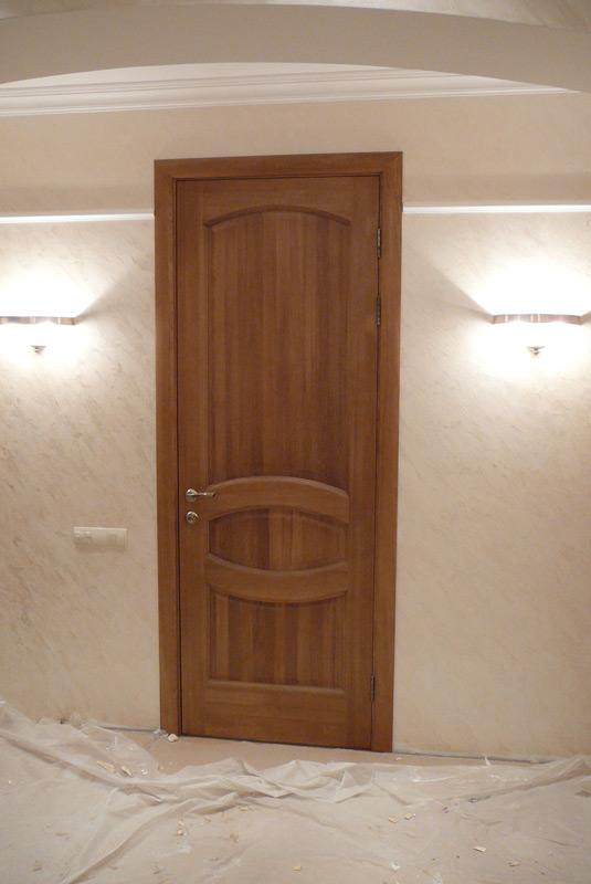 Двери в баню (банные) из липы